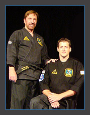 Steve Brown with Chuck Norris