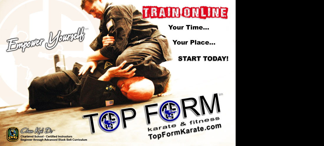 Study Chun Kuk Do online with virtual classes at TopFormKarate.com
