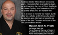 John Presti of Presti Karate, Niagara Falls, NY endorsing Master Steve Brown and Top Form Karate